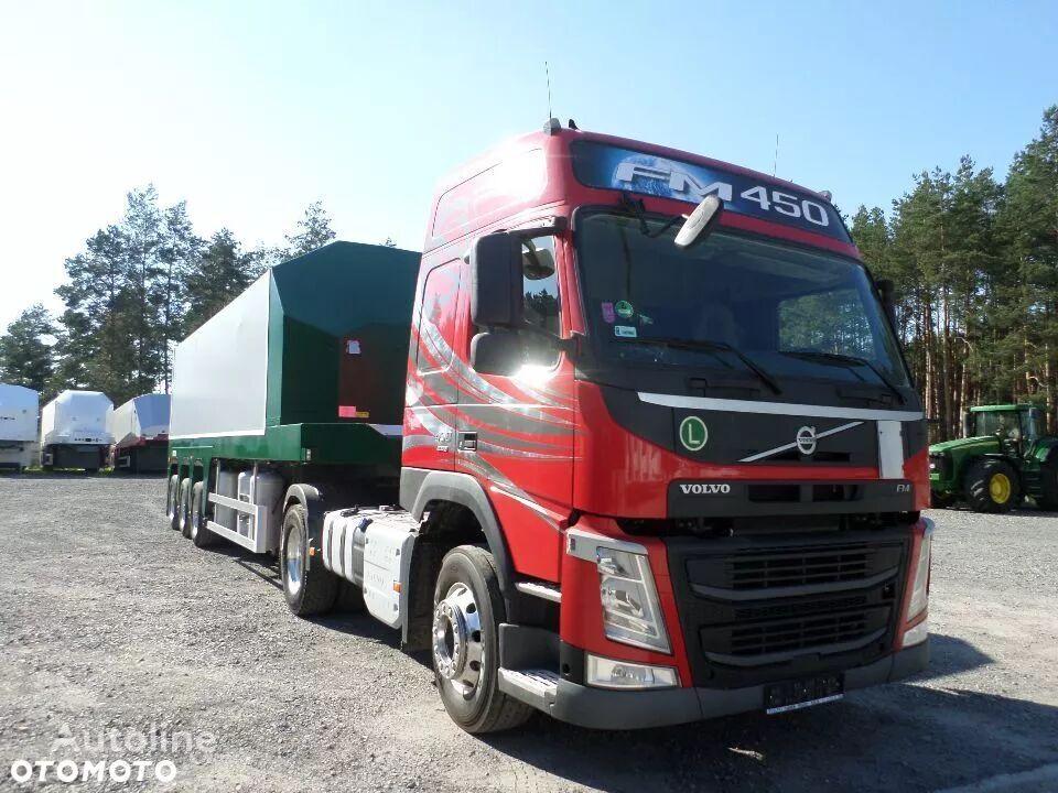 vlačilec VOLVO VOLVO FM 450 STANDARD EURO 6 6300kg + FAYMONVILLE DO SZKŁA PŁYT + polprikolica za prevoz stekla