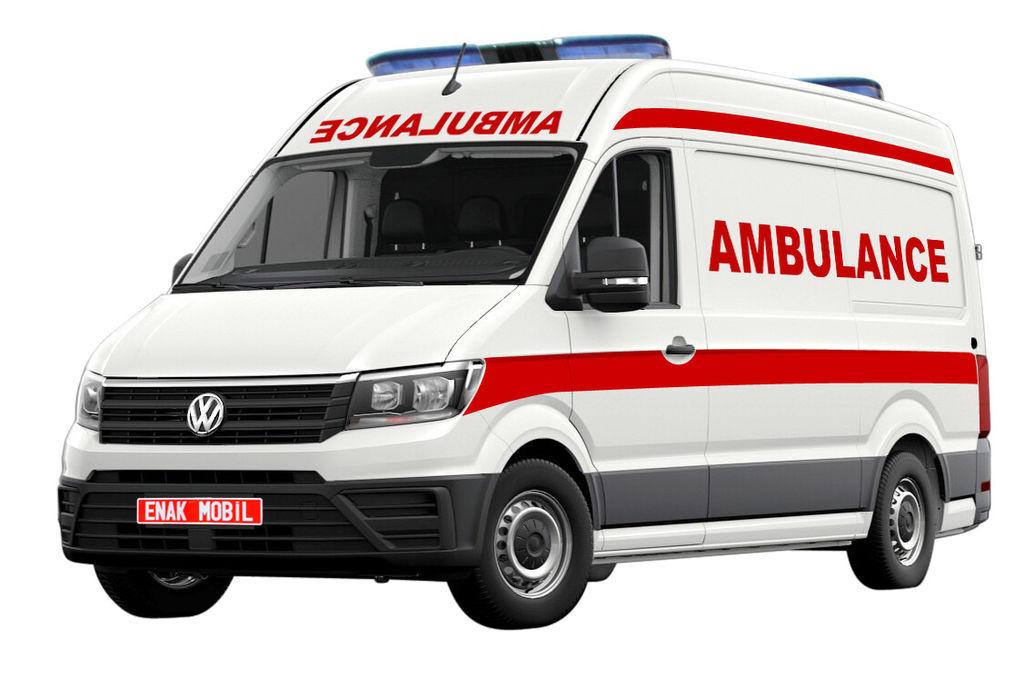 nov reševalno vozilo VOLKSWAGEN Transporter T6